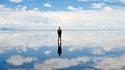 Салар де Уюни: Разходка по облаците. Ама истинска!